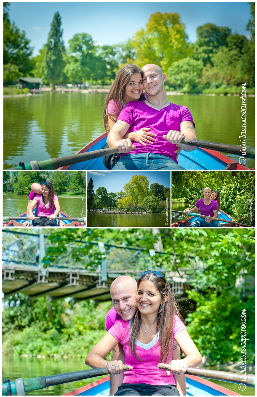 seance photo couple engagement mariage laurence parot photographe bois de vincennes
