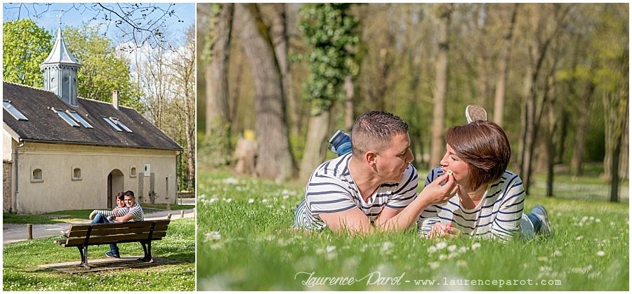 photos couple séance engagement vigneux essonne 91