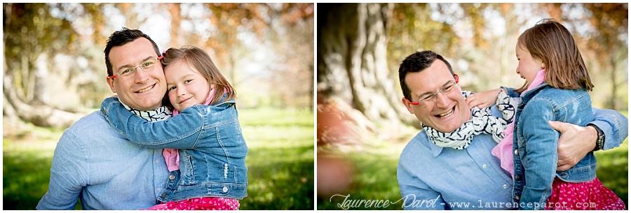 photos famille enfant extérieur