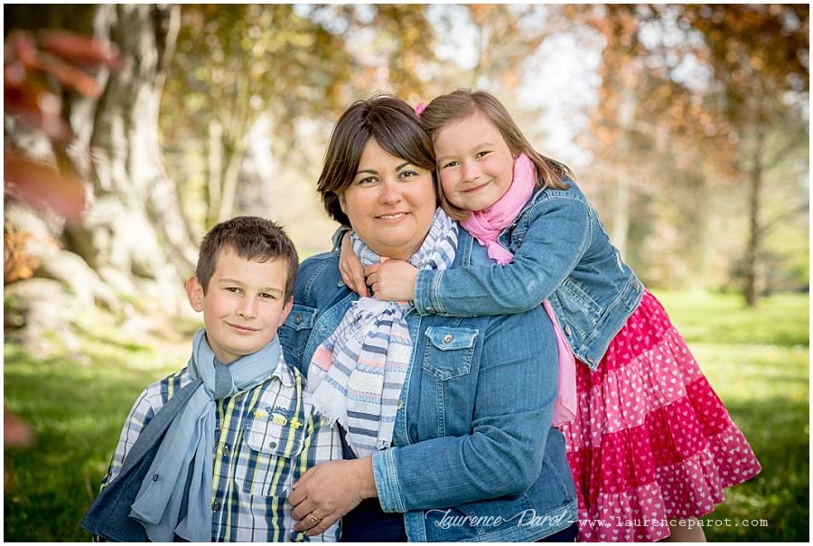 photos famille enfant printemps parc extérieur