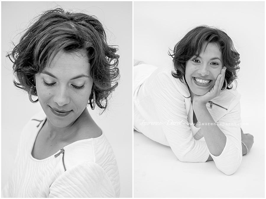 Laurence Parot Photographe portraits noir et blanc studio portraitiste essonnes vigneux ile de france