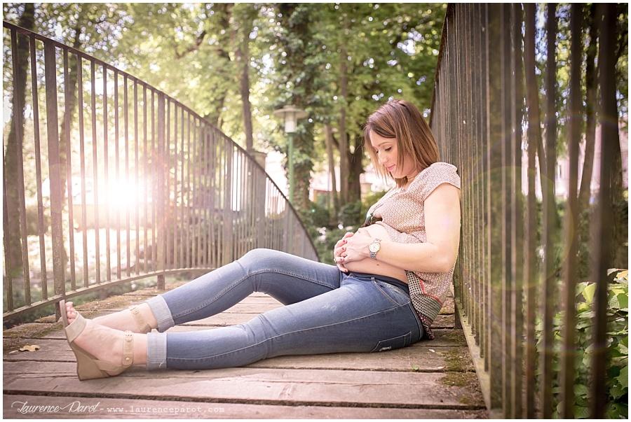 photo femme enceinte extérieur ile de france