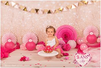 Séance photos anniversaire bébé – smath the cake